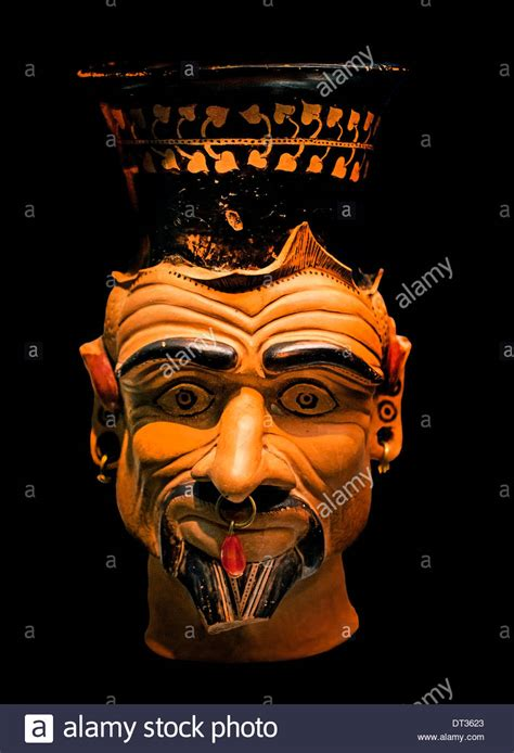 Associated Ugliness by Charun 400 Bc Ugliness Of The Etruscan Damon