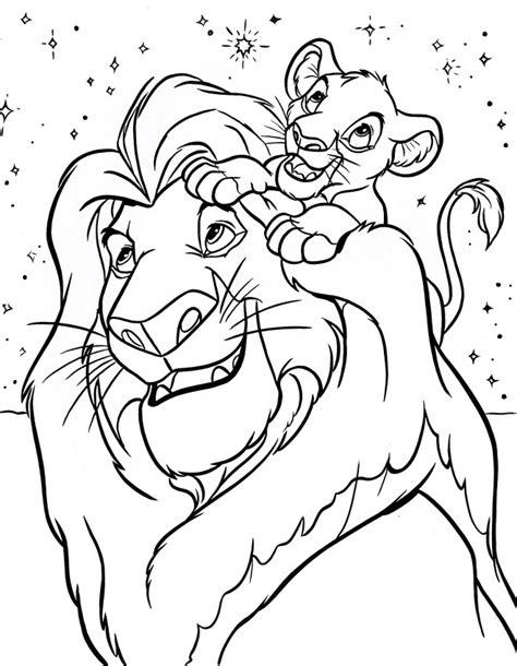 Coloriage Simba Et Le Roi Lion Dessin Gratuit 224 Imprimer