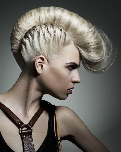 hot styling mohawks girl mohawk hairstyles trends and ideas