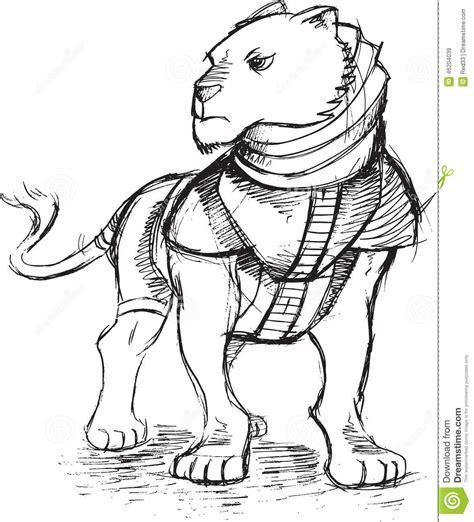 doodle warrior warrior sketch doodle stock vector image 46204039