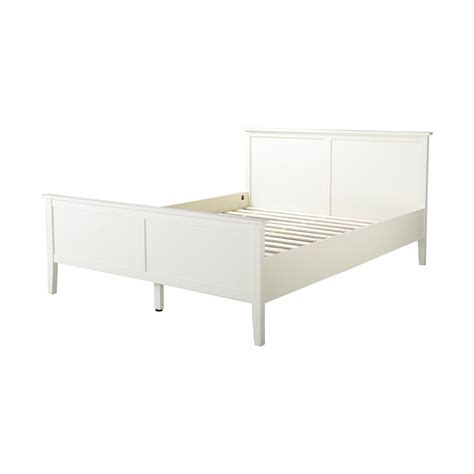 home depot bed homestar dellys collection queen bed frame in white the