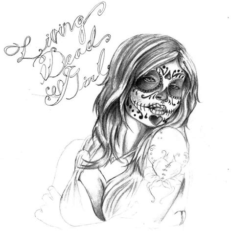 living dead tattoo designs use the form below to delete this day of the dead skull