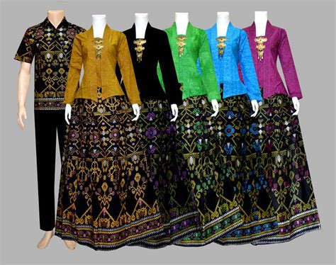 Sarimbit Batik Kebaya Kutubaru Batik Baju Batik Keluarga Modern model baju batik batik modern batik batik sarimbit holidays oo