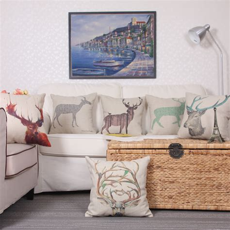 the linen store and home decor aliexpress buy the factory wholesale 45x45cm cotton linen cushion cover throw pillows