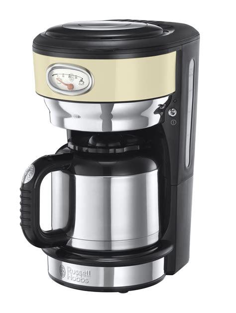 Russel Hobbs Toaster Russell Hobbs Kaffeemaschine Retro Vintage Cream