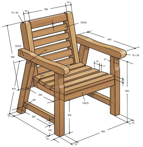 sedie in legno da giardino arredo giardino fai da te come costruire una panca e
