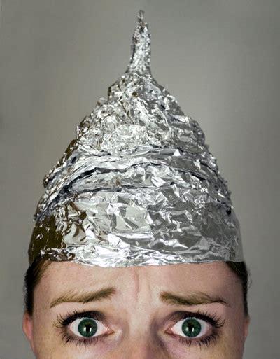 Aluminium Foil Hati the tool in defending common tin foil hats curriculum matters education week
