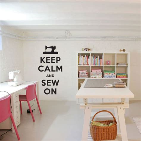 Wall For Sewing Room by Sewing Room Quotes On Walls Quotesgram