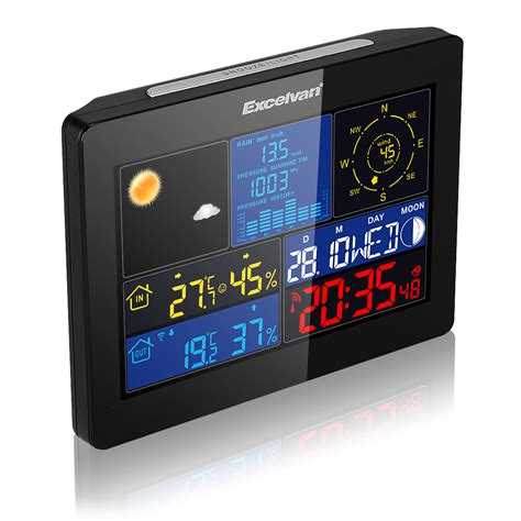 wireless color weather station professional wireless weather station color lcd forecast