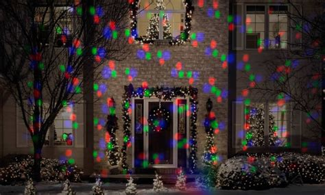 applights led projection snowflurry 49 programs stake light gemmy lightshow projection stake outdoor christmas