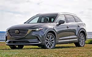 Madza Cx9 Driven 2017 Mazda Cx 9 Signature Awd Autoevolution