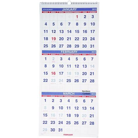 Calendar 3 Months Per Page 2015 Free Printable Calendars Six Months Per Page 2015 Autos Post