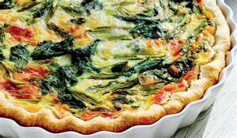 Montasio Cheese Garden Vegetable Quiche Food Newsfeed Garden Vegetable Quiche