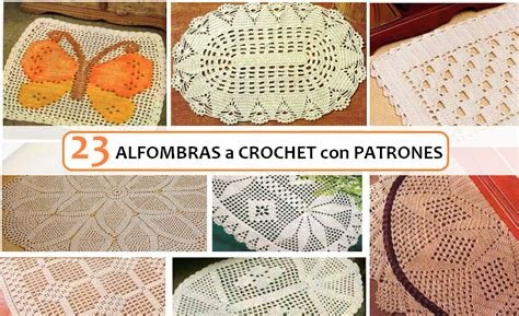 alfombra crochet 23 ideas de alfombras a crochet con patrones