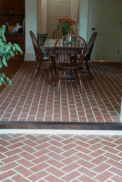 dining rooms inglenook brick tiles brick pavers thin brick tile brick floor tile