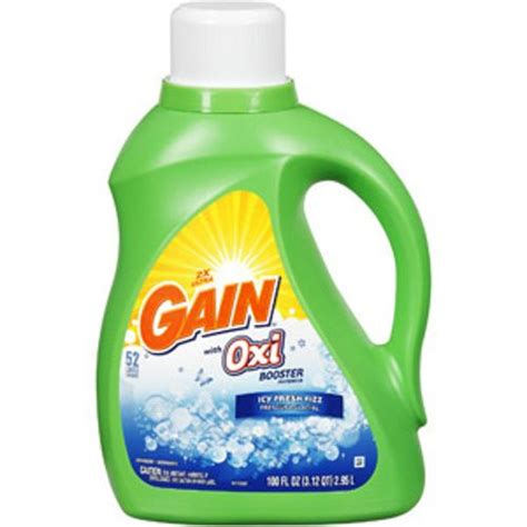 gain fresh gain with oxi boost icy fresh fizz cold water liquid