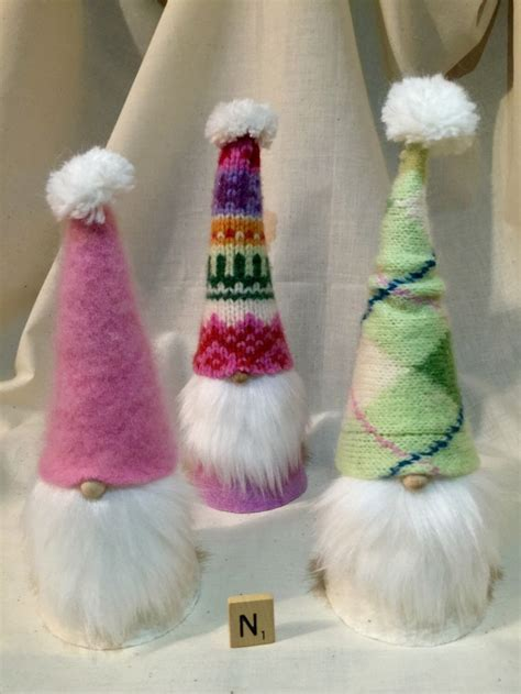 how to make medium size ornaments out of construction paper fuzzy gnomes etsy shop https www etsy listing 467059907 fuzzy sweater gnomes medium sized
