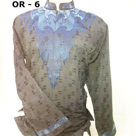 Baju Batik Koko 05 model baju lengan panjang holidays oo