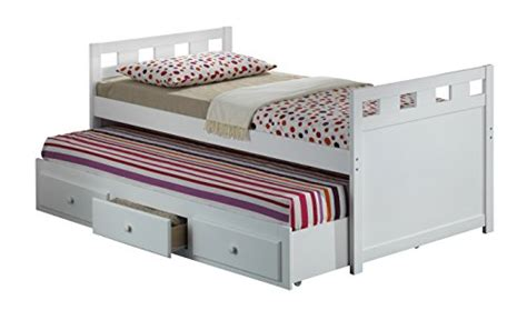 trundle bed amazon broyhill kids breckenridge captain s bed with trundle bed