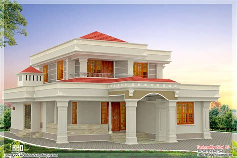 Best 2 Story 4 Bedroom Designs For Low Cost Housing by Beautiful Indian Home Design In 2250 Sq Feet Kerala Home
