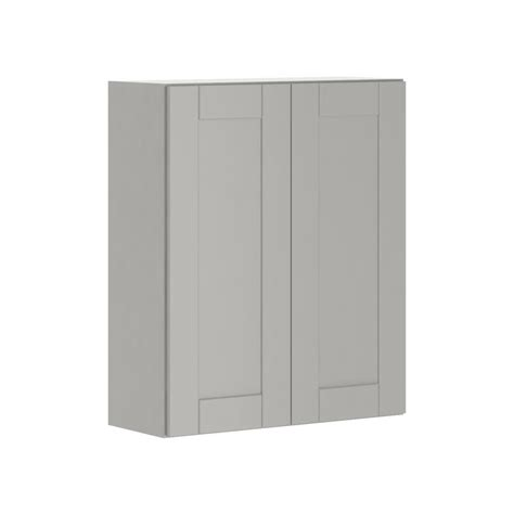 hton bay princeton shaker assembled 30x36x12 in wall