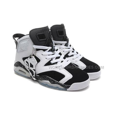 big jordans shoes big discount air 6 retro oreo white black speckle