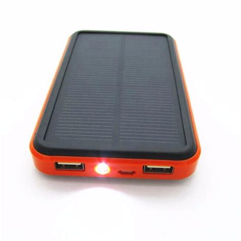 Powerbank Solar 100000mah new 100000mah waterproof portable solar power bank dual usb solar charger for cell phone power bank