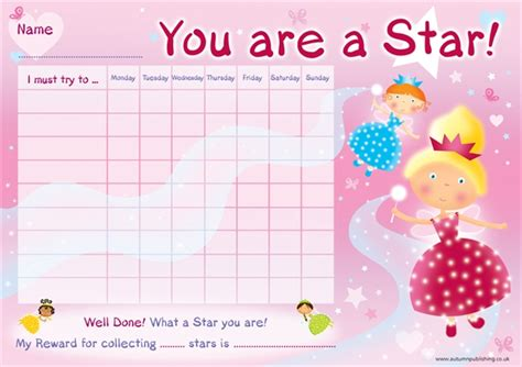 printable star reward chart 7 best images of free printable sticker books free