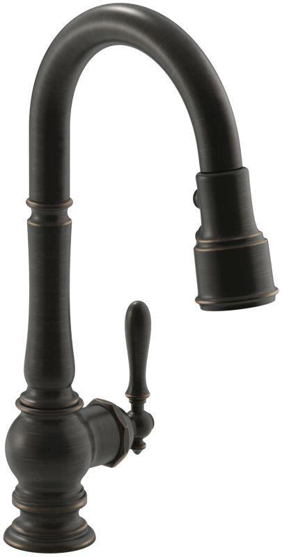 high arch kitchen faucet faucet k 99261 2bz in rubbed bronze 2bz by kohler