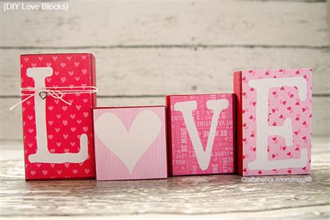 Wooden Letters Home Decor by Valentine Craft