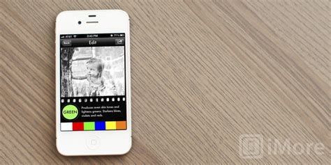 convert your photos into gorgeous black and white images with simply b w for iphone and imore