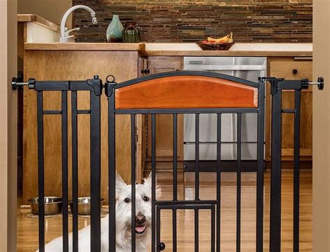 best puppy gate pet gate with door primetime petz 360 convertible zfold pet gate w door top ten