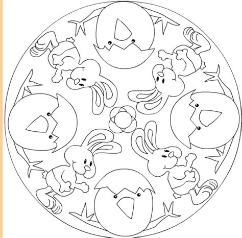 free easter mandala coloring pages printable easter mandala coloring pages coloring page