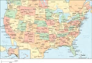 us state map with large cities подробная карта сша на русском языке штаты и города сша