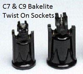 c7 light sockets c7 pro grade bakelite sockets