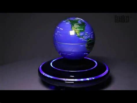 Dekorasi Rumah Magnetic Floating Globe magnetic levitation floating globe world map gearbest