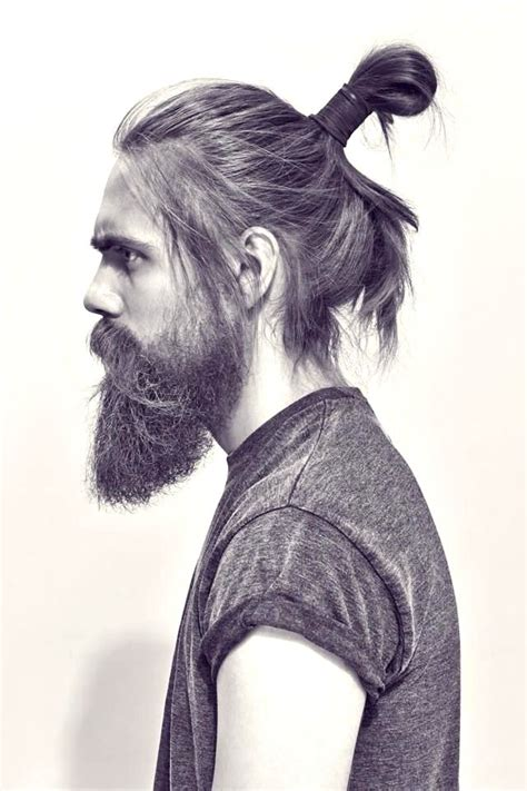mens hair topknot the man bun epic hairstyle guide with advice pictures