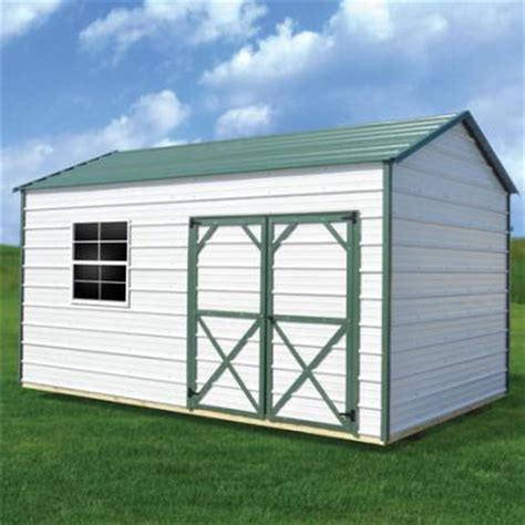 Metal Utility Sheds by Metal Side Utility Garden Shed Web Rent2ownsheds