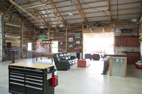 garage building ideas morton buildings hobby garage interior in cypress