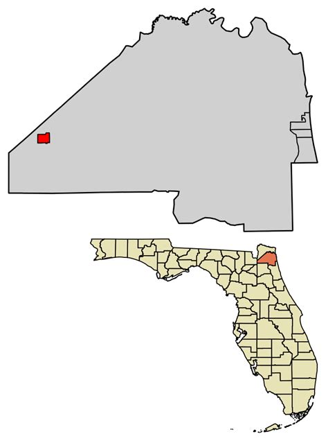 Records Duval County Fl File Duval County Florida Incorporated And Unincorporated Areas Baldwin Highlighted