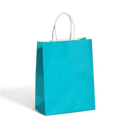 Paper Bags - blue kraft paper bag 1 kairui paper bag co ltd