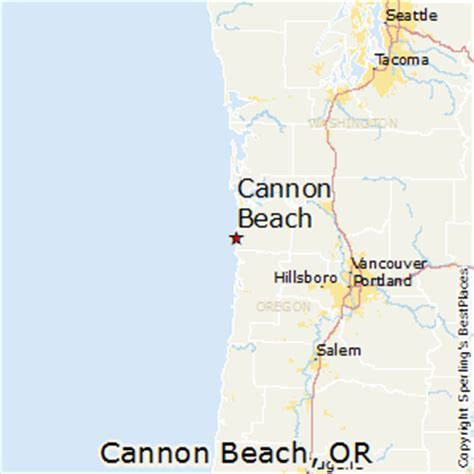 map of cannon oregon best places to live in cannon oregon