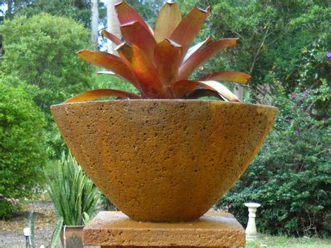 Large Outdoor Bowl Planters by Potanico Large Garden Bowls And Pits