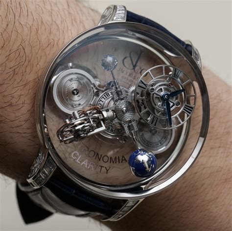 jacob co astronomia clarity black watches on