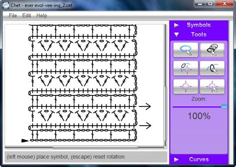 crochet pattern writing software chet is a fully featured application that facilitates the