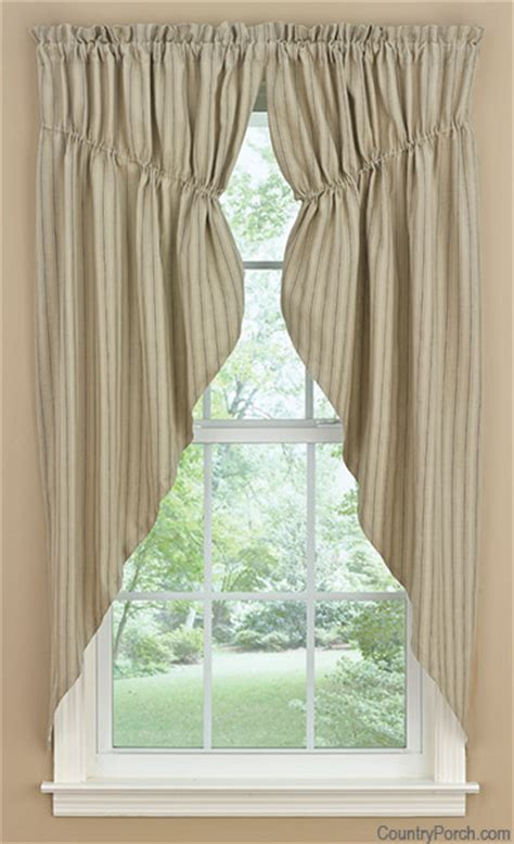 swag window curtains millstone lined gathered window curtain swag