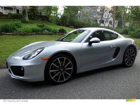 2014 Rhodium Silver Metallic Porsche Cayman S 113330641