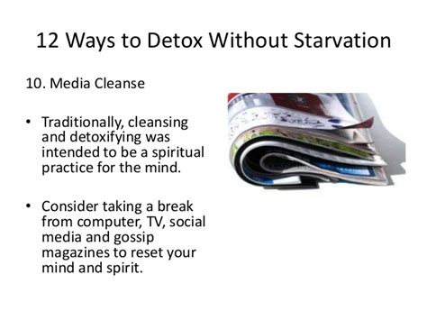 Is Sweating A Way To Detox by 12 Ways To Detox Without Starvation