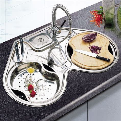 bowl corner sink unique stainless steel bowl corner kitchen sinks
