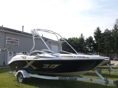 2002 bombardier sea doo jet boat seadoo bombardier 2002 for sale for 9 000 boats from
